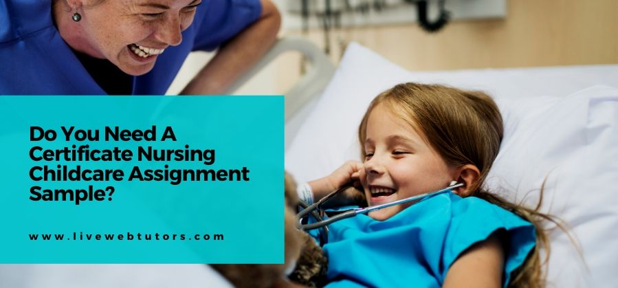 Do You Need A Certificate Nursing Childcare Assignment Sample?