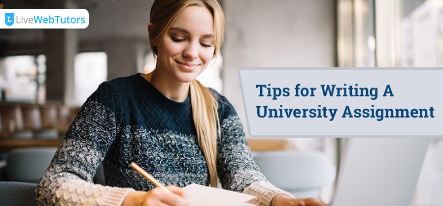 Tips for Writing University Assignment
