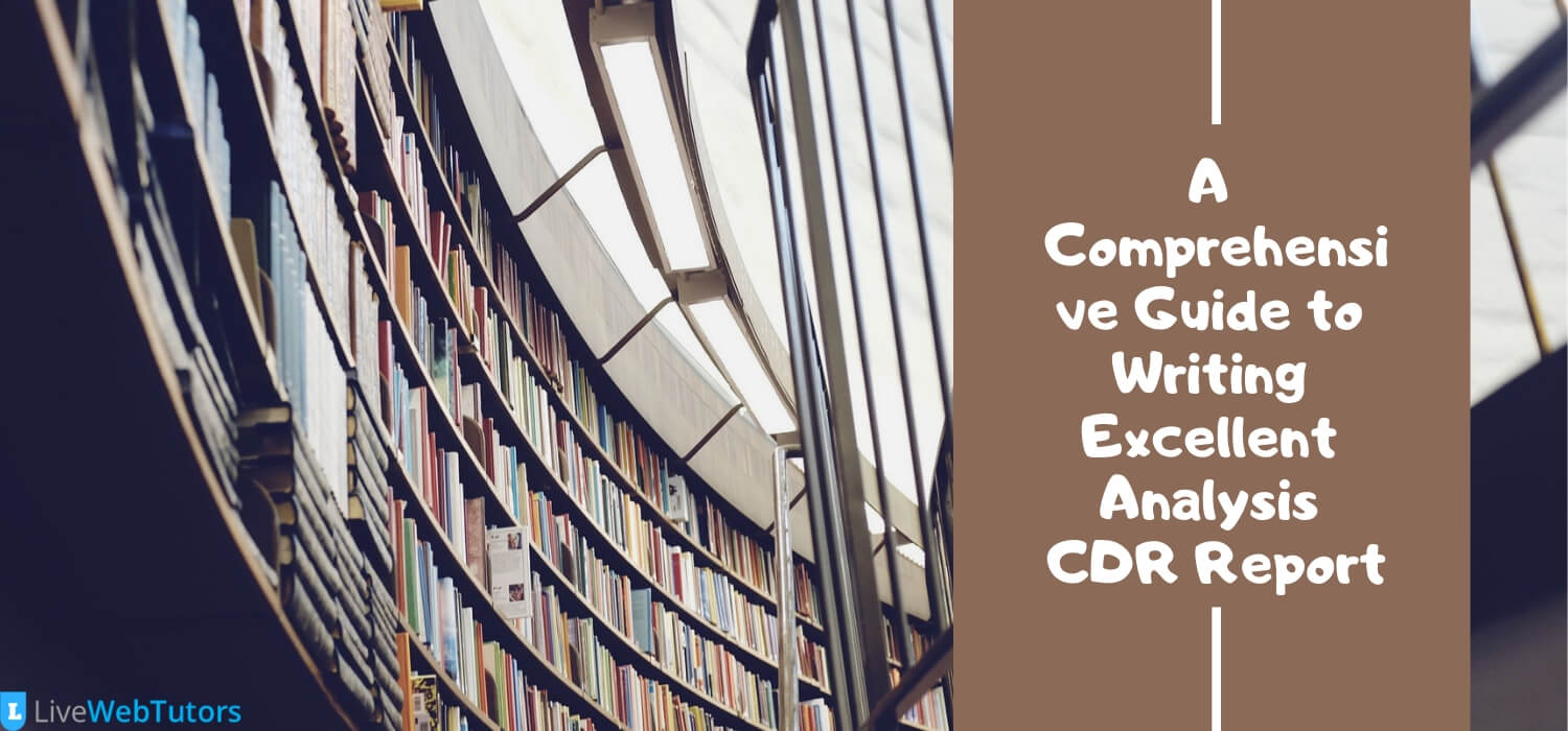 A Comprehensive Guide to Writing Excellent Analysis CDR Report