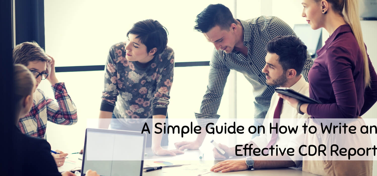 A Simple Guide on How to Write an Effective CDR Report