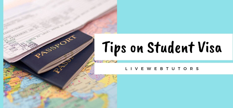 Tips on Student Visa