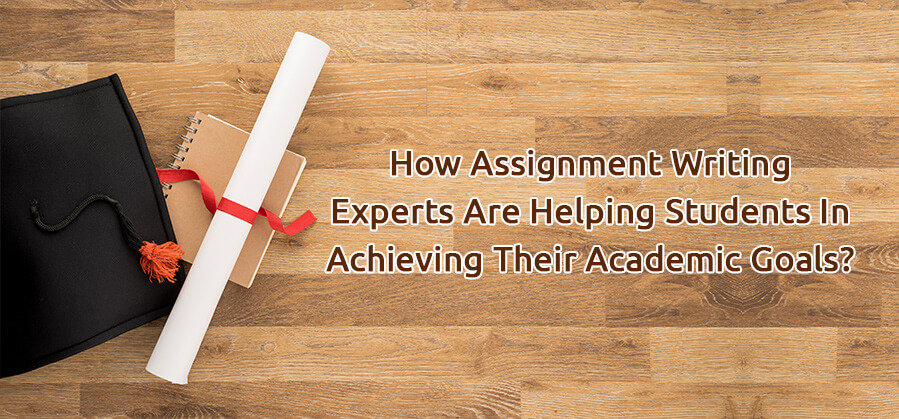 How assignment writing experts are helping students in achieving their academic goals?