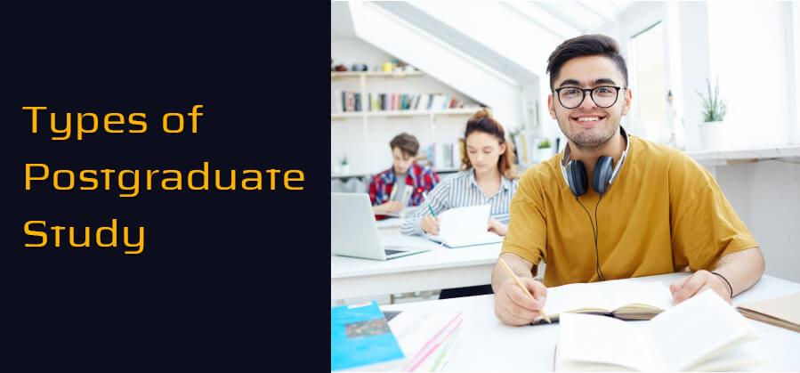 Types of Postgraduate Study