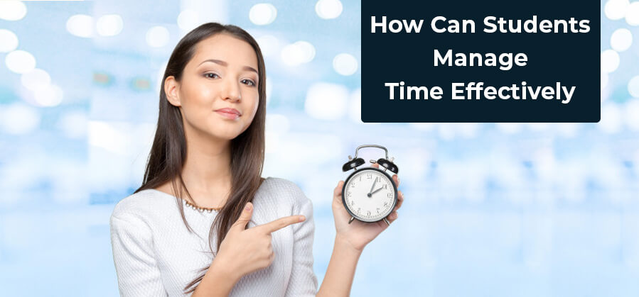 How can students manage time effectively