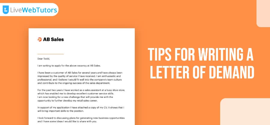 Tips for Writing a Letter of Demand